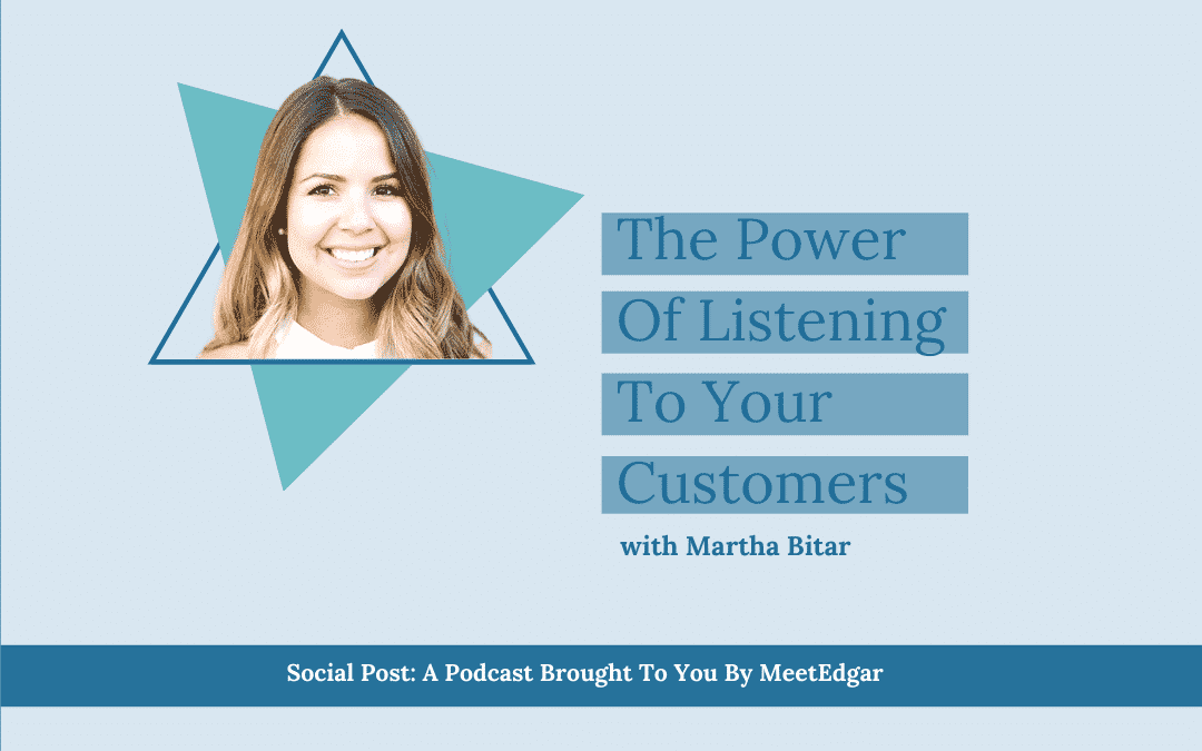 The Power of Listening to Your Customers with the CEO of Flodesk Martha Bitar