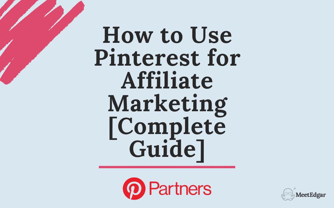 pinterest affiliate marketing